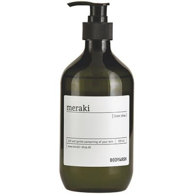 Meraki Body Wash, Linen dew (500 ml)