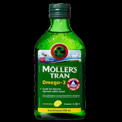 Møllers Tran med Citrussmag (250 ml)