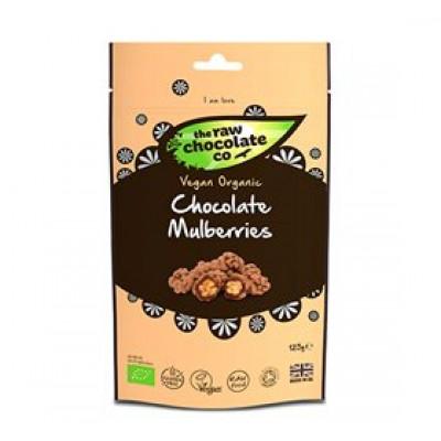 The Raw Chocolate Co. Morbær m. rå chokolade Ø Snack pack