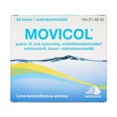 Movicol Pulver Oral Opløsning (20 breve)