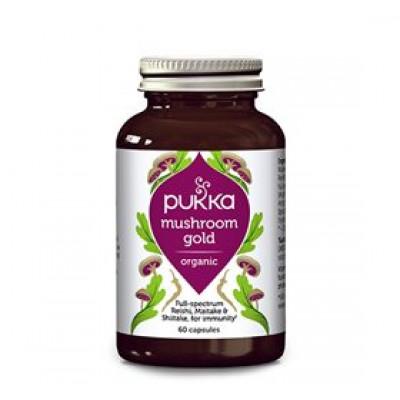 Pukka Mushroom Gold (60 kapsler)
