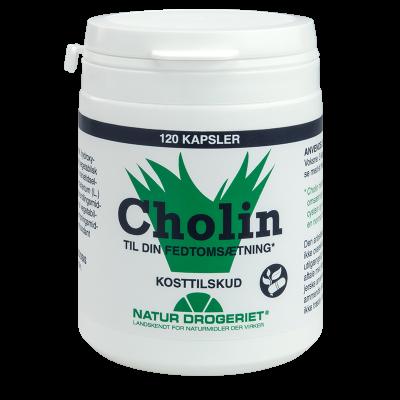 Natur Drogeriet Cholin (120 kap)