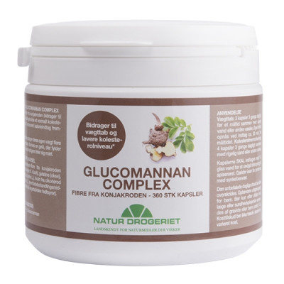 Natur Drogeriet Glucomannan Complex (360 kapsler)