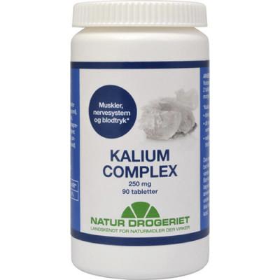 Natur Drogeriet Kalium Complex 250 mg (90 tabletter)