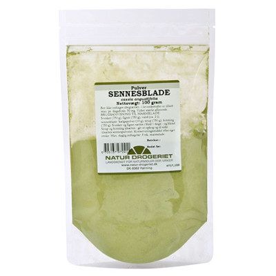 Natur Drogeriet Sennesblade pulver (100 gr)