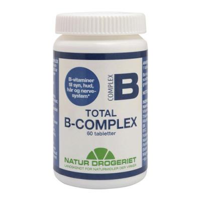 Natur Drogeriet Total B-Complex (60 tabletter)