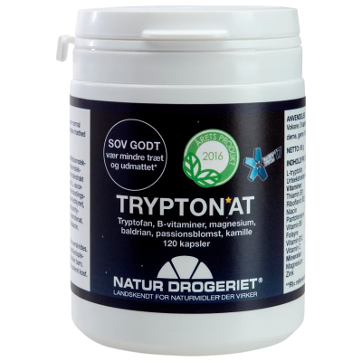 Natur Drogeriet TryptoNAT (120 kapsler)