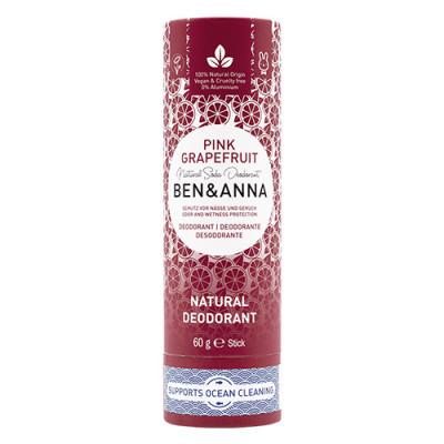natural deodorant Pink Grapefruit Papertube