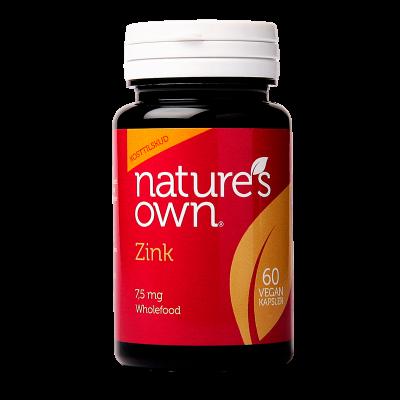 Nature's Own Zink (60 kap)