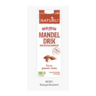 Naturli Mandeldrik Ø (1 l)