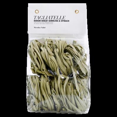 Nicolas Vahé Tagliatelle - Durum Wheat Semolina & Spinach (250 g)