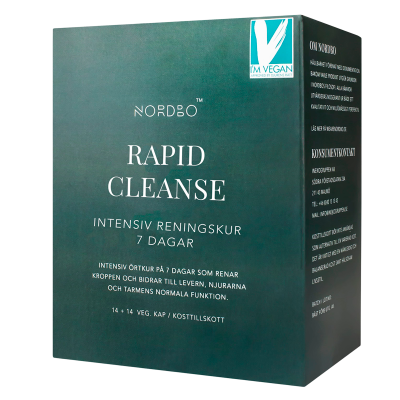 NORDBO Rapid Cleanse Vegansk