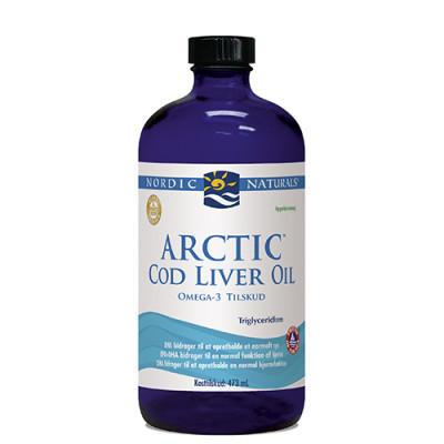 Nordic Naturals Torskelevertran m.appelsin Cod liver oil (474 ml)