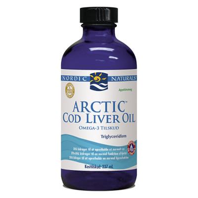 Nordic Naturals Torskelevertran m.appelsin Cod liver oil (237 ml)