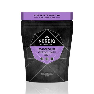 NORDIQ Magnesium Wholefood Pulver (100 g)