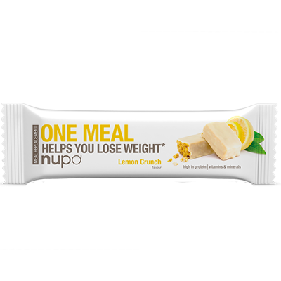 Nupo One Meal bar Lemon Crunch (60g)