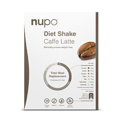 Nupo Caffe Latte Breve 384 g.