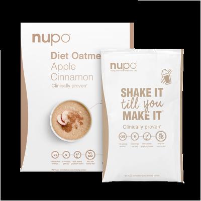 Nupo Diet Oatmeal Apple Cinnamon (12x32 g)