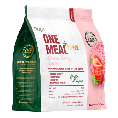 Nupo One Meal +Prime Strawberry Love Vegan (360 g)