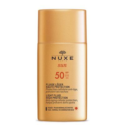 Nuxe Sun Light Fluid High Protection SPF50 (50 ml)
