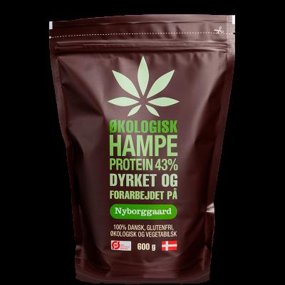 Nyborggaard Hampeprotein 43% (600 g)