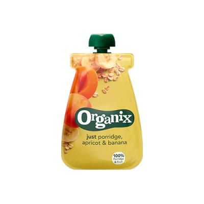 Organix Babymos havre, abrikos banan Ø fra 6 mdr. (100 g)