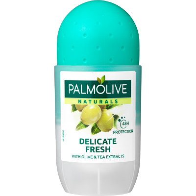 Palmolive Deo Roll-On Naturals Delicate Fresh (50 ml)