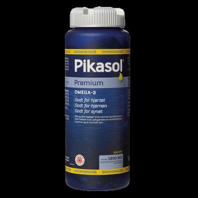 Pikasol® Premium Omega 3 (200 kapsler)