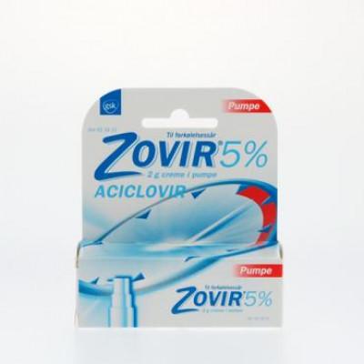 Zovir Creme i Pumpe 50 mg