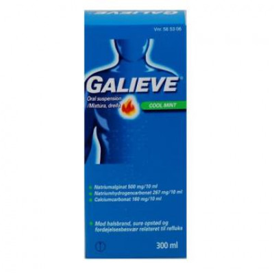Galieve Cool Mint Oral Suspension (300 ml)