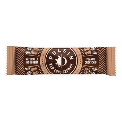 Pulsin Peanut Chock chip raw choco brownie (50 g)