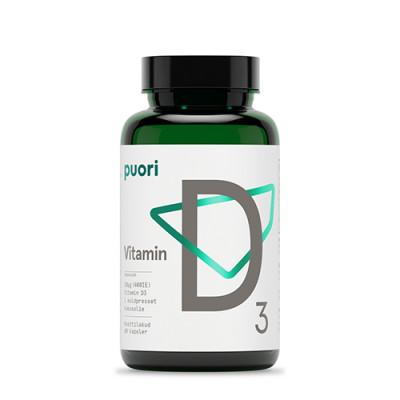 Puori Vitamin D3 (60 kap)