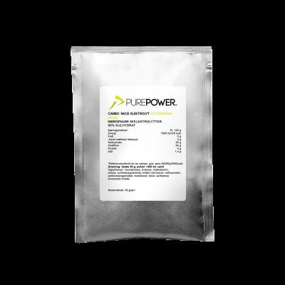 PurePower Carbo Race Electrolyte Citrus (50 g)