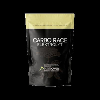 PurePower Carbo Race Electrolyte Hyldeblomst (1 kg)