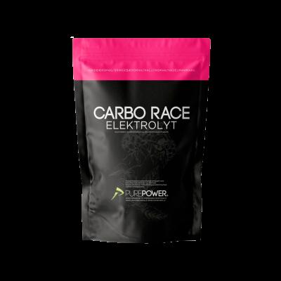PurePower Carbo Race Electrolyte Hindbær (1 kg)