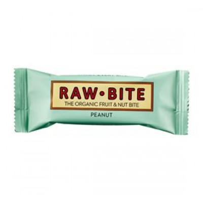 Rawbite Peanut Glutenfri Rawfoodbar Ø (50 gr)