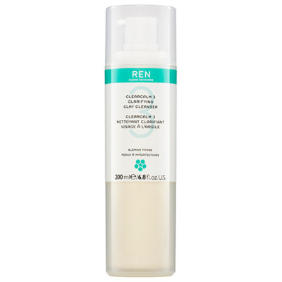 REN Clarifying Clay Cleanser (200 ml)