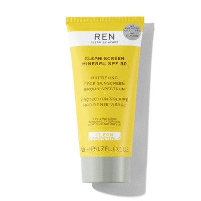 REN Clean Screen Mineral Solcreme SPF30 (50 ml)