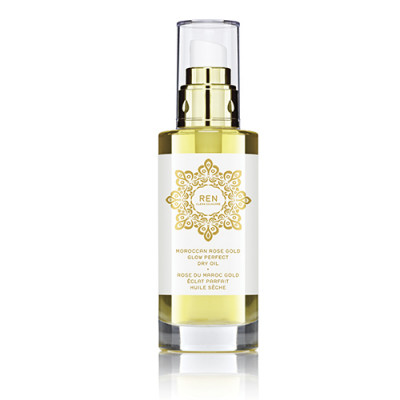 REN Moroccan Rose Gold Glow Perfect Dry Oil (100 ml)