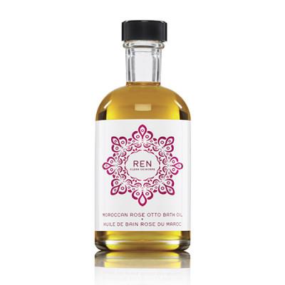 REN Moroccan Rose Otto Bath Oil (110 ml)