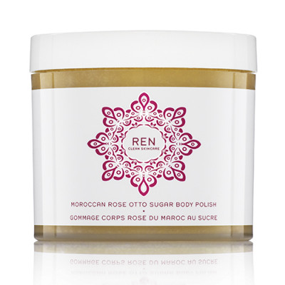 REN Moroccan Rose Otto Sugar Body Polish (330 ml)