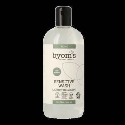 Byoms Sensitive Wash Probiotic Laundry Detergent Neutral (500 ml)