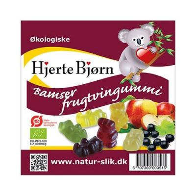 Frugtsaftbamser Ø 100 gr