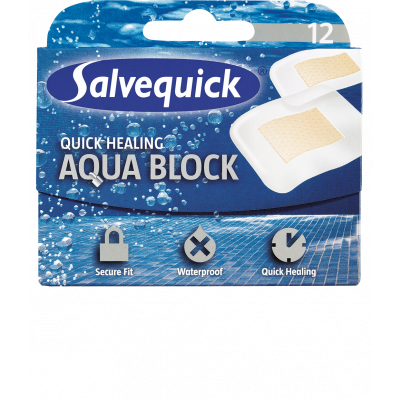 Salvequick Aqua Block (12 stk)