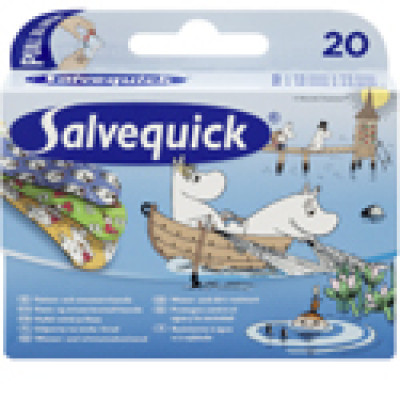 Salvequick Mummi plaster (20 stk)