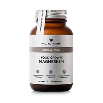Wild Nutrition Food-Grown Magnesium (60 kaps)