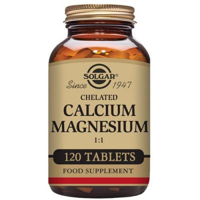 Solgar Calcium Magnesium 1:1 (120 tab)