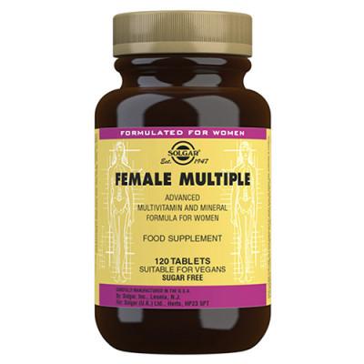 Solgar Female Multivitamin Kvinder (120 tab)