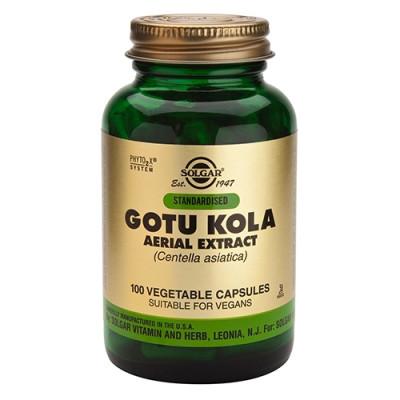 Solgar Gotu Kola 100 mg (100 kapsler)