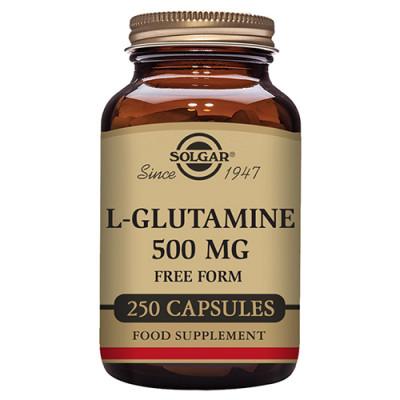 Solgar L-Glutamine 500mg (250 kap)